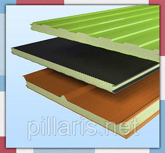 Стеновые сэндвич-панели 80 мм