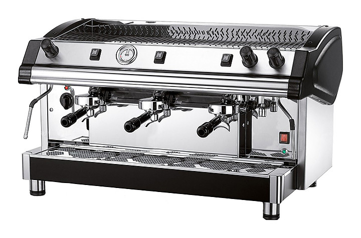 Кофемашина Royal Tecnica 3GR Semiautomatic Boiler 21LT черная