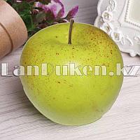 Искусственный фрукт яблоко муляж зеленое
