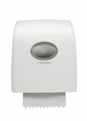 Диспенсер Aquarius Slimroll 6953 для рулонных бумажных полотенец белый от Kimberly-Clark Professional, фото 2