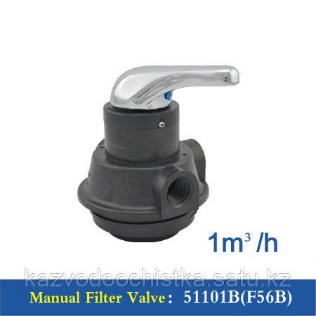 Клапан управления Runxin F56А (ручной клапан механической очистки)