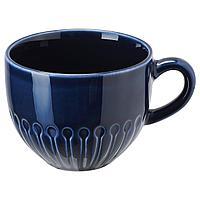 Кружка , СТРИММИГ , каменная керамика синий ИКЕА, IKEA, фото 1