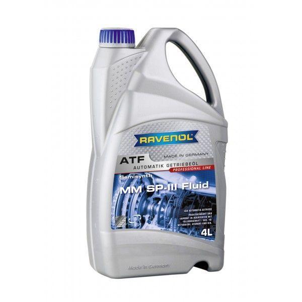 Трансмиссионное масло для АКПП - RAVENOL MM SP-III Fluid 4 литра