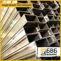 Труба квадратная 25х25х1.5 мм AISI 304 зеркальная