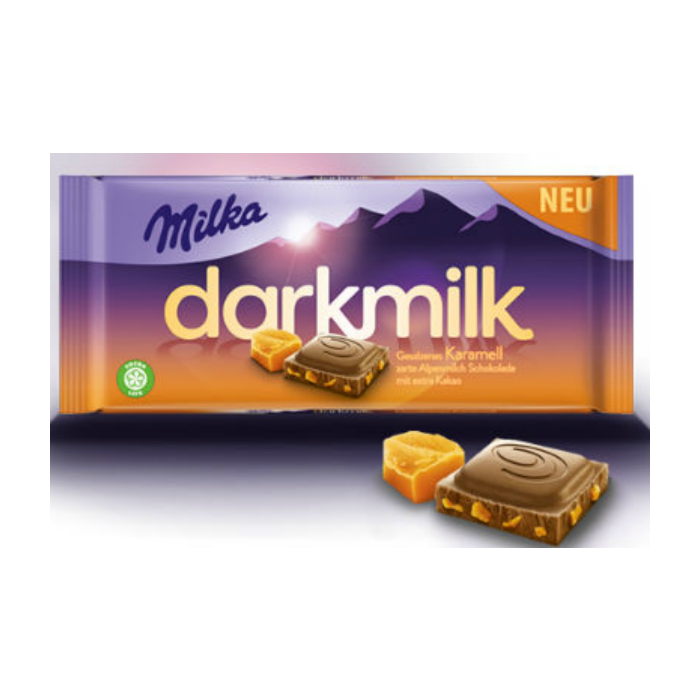 Milka Dark Caramel (85 грамм)