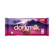 Milka Dark Rasberry 85 грамм (25 шт. в упаковке)