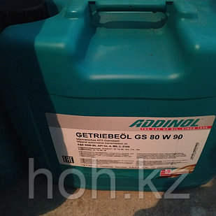 Трансмиссионное масло ADDINOL Getriebeol GS SAE 80W90