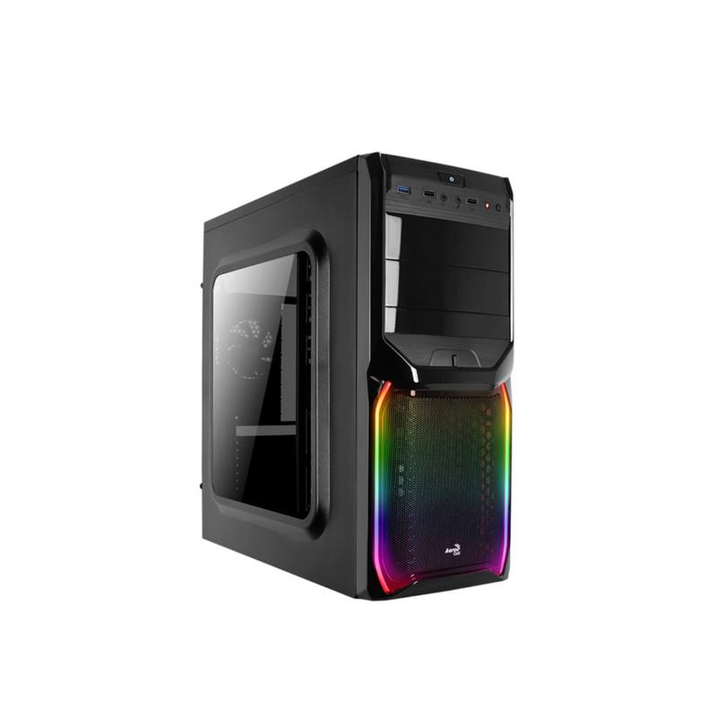 Кейс Aerocool V3X RGB WINDOW Black