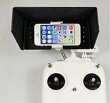 Козырек-анти солнце  для мобильного устройства  DJI Phantom 2/3/vision/vision+, фото 2