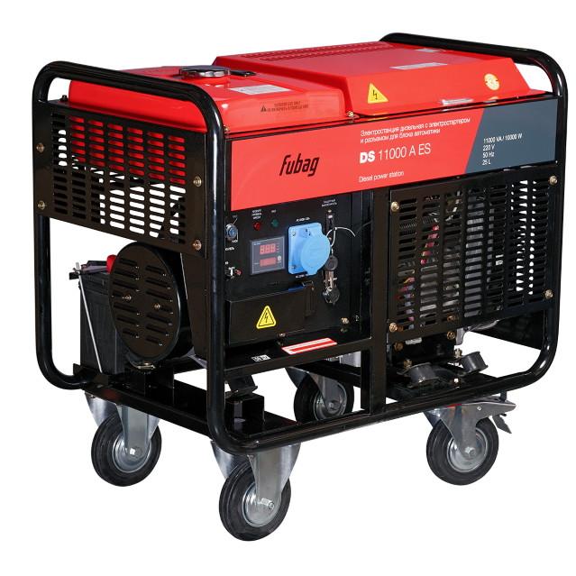 Генератор дизельный DS 11000 A ES 10 кВт