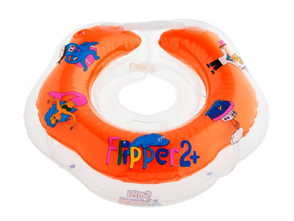 Круг на шею Flipper 2+ для купания детей - фото 1