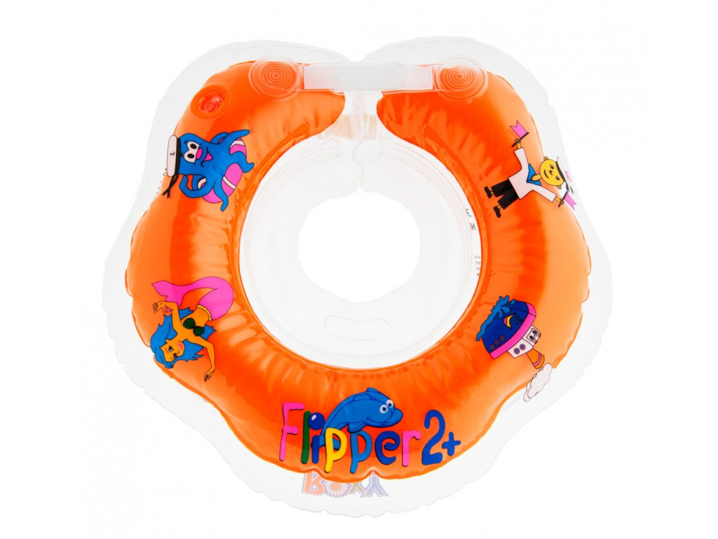 Круг на шею Flipper 2+ для купания детей - фото 7