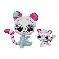 Зверушка Littlest Pet Shop и ее малыш - Панда и белый тигрёнок, фото 1