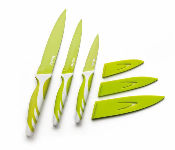Набор кухонных ножей 3шт. 8,5+12,5+15 см. Ibili Испания 727650