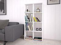 Стеллаж для дома Polini Home Smart 8 секции Белый