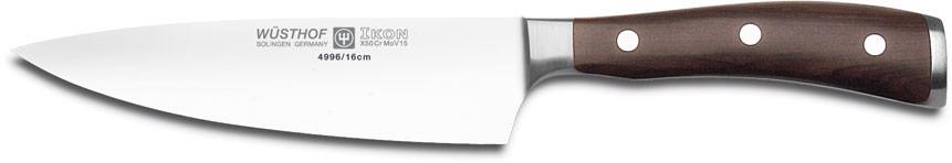 Нож Wusthof-Золинген поварской, 160 мм, Ikon 4996/16