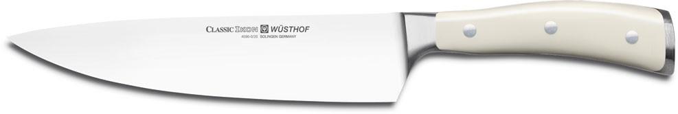 Нож Wusthof-Золинген поварской, 200 мм, Ikon Cream White 4596-6/20