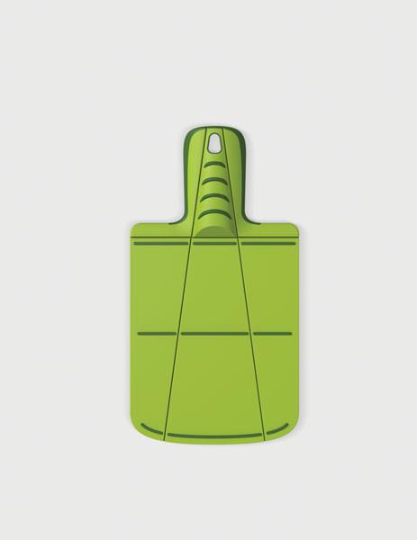 Доска разделочная пластиковая, 17x31x1.5  cm, Joseph Joseph Chop2Pot™ Plus mini, зеленая 60051