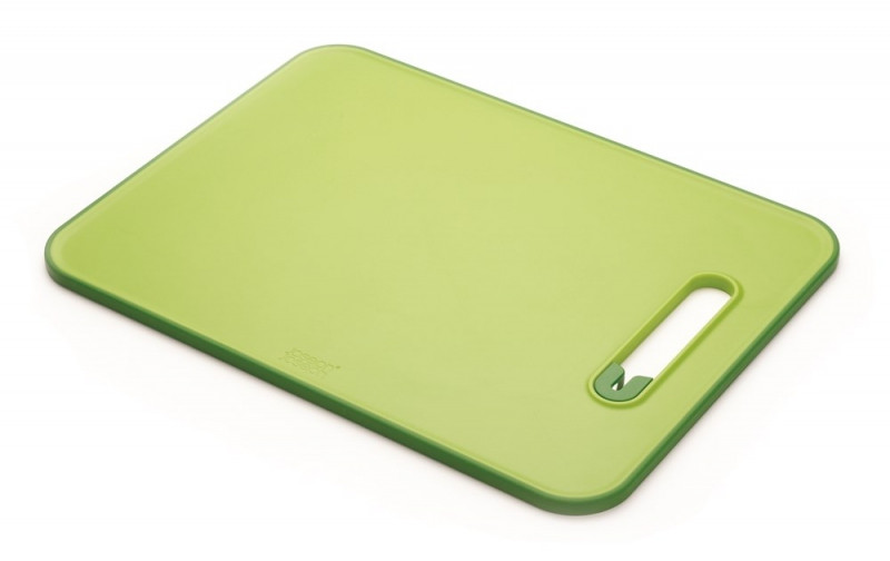 Доска разделочная с ножеточкой Joseph Joseph Slice&Sharpen™ Large зеленая 60027