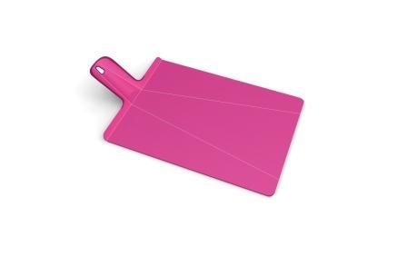 Доска разделочная пластиковая 38x21x1.5  cm, Joseph Joseph Chop2Pot™ Plus, розовая (NSP016SW)