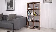 Стеллаж для дома и офиса Polini Home Smart Кубический 8 секции трюфель, фото 1