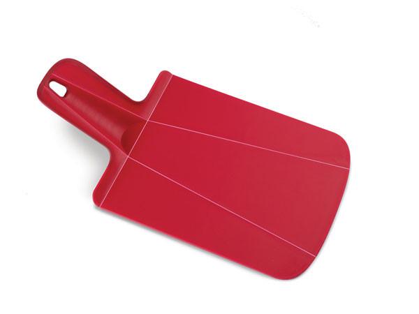 Доска разделочная пластиковая, 17x31x1.5  cm, Joseph Joseph Chop2Pot™ Plus mini, красная 60052