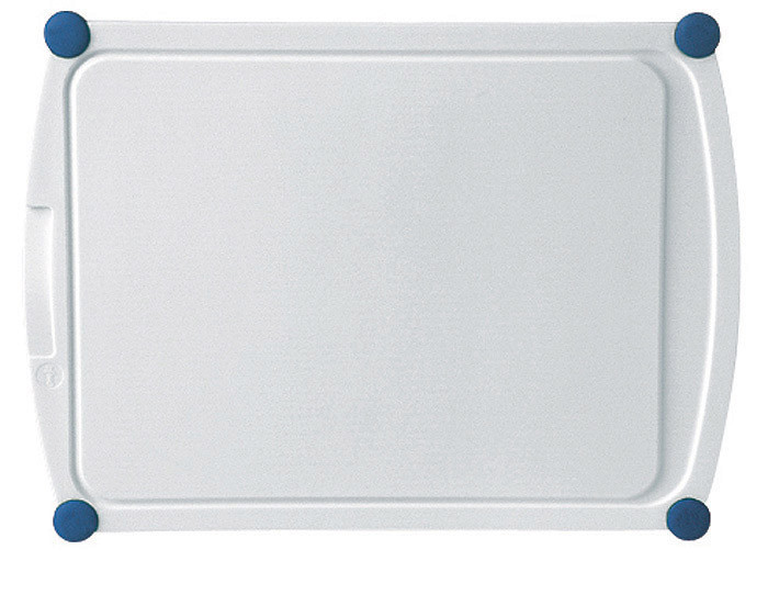 Доска разделочная, белая, 40x29 см. EMSA PERFECT CUT 2136 40 12 00