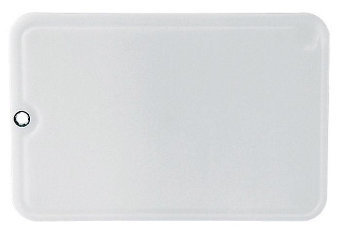 Доска разделочная, белая, 36x24 см. EMSA CLEAN CUT 2138 36 16 00