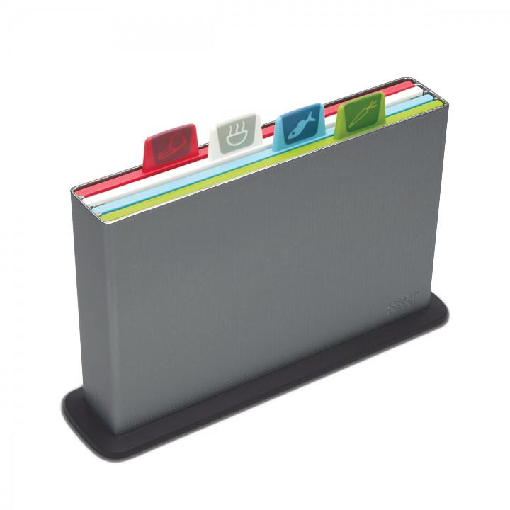 Набор разделочных досок 4шт. 30 x 20 cm Joseph Joseph Index™ серый 60065
