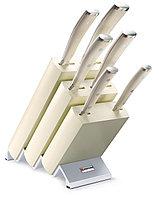 Набор ножей Wusthof-Золинген 6 предметов в подставке, серия Ikon Cream White 9877