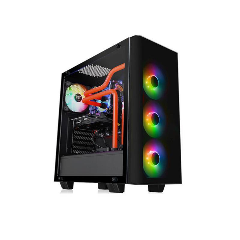 Кейс Thermaltake View 21 TG RGB Plus Black