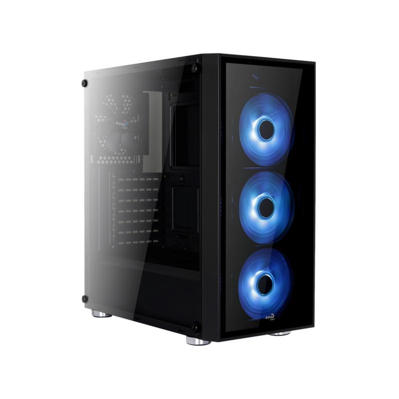 Кейс Aerocool Quartz RGB Black