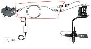 12м/ кабель для Пульта управление Панорамной головкой  PROIAM Индия , фото 2