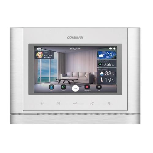 COMMAX - CMV-70MX(WHI) - Android, технология IoT -  монитор с памятью