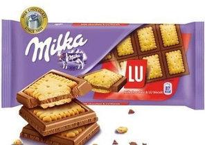 Milka LU (87 грамм) (18 шт. в упаковке)