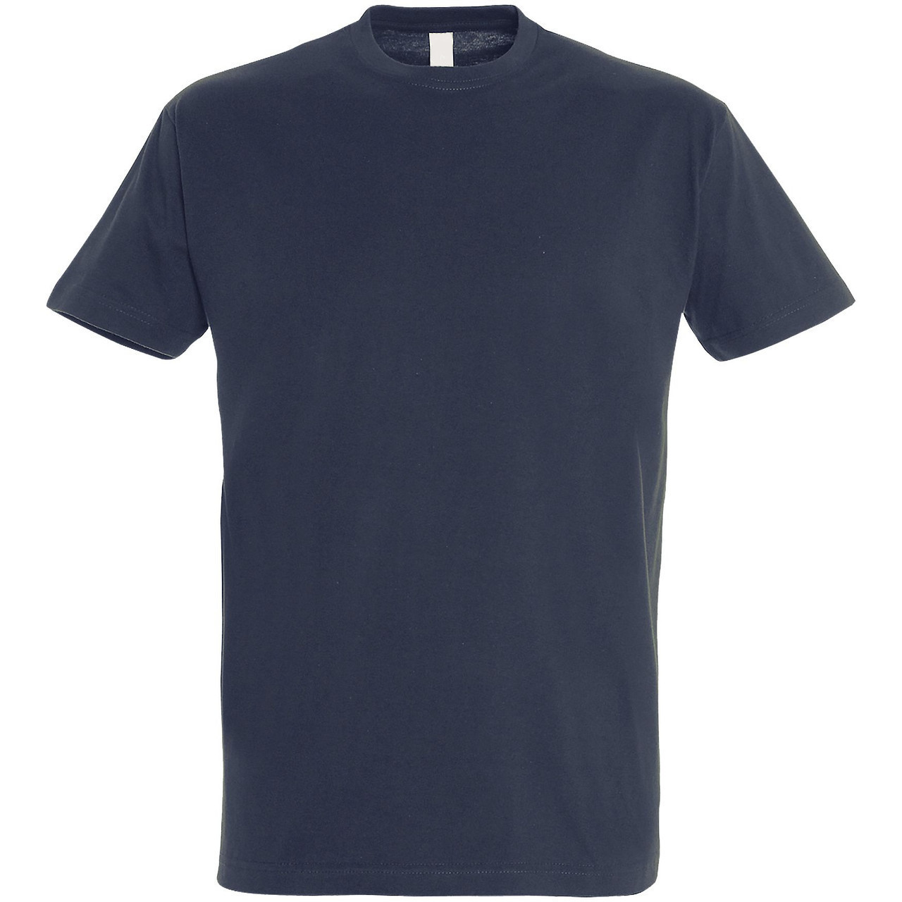 Oднотонная футболка | Темно-синяя | 160 гр. | L