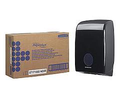 7171 Aquarius диспенсер для сложенных полотенец для рук чёрный производства Kimberly Clark Professional, фото 3
