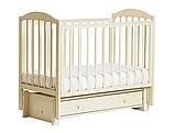 ЛЕЛЬ Кровать детская КУБАНОЧКА-5 с продольным маятником БИ 41.3 венге, фото 2