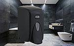 Диспенсер (дозатор) для пенки для мытья рук Vialli F5В (чёрного цвета) 500мл., фото 2