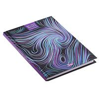Бизнес-блокнот А6, 80 листов Abstraction, твёрдая обложка, матовая ламинация, 3D-фольга, фото 1