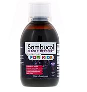 Sambucol, Черная бузина, Сироп для детей, с ягодным вкусом, 7.8 жидких унций (230 мл), фото 3