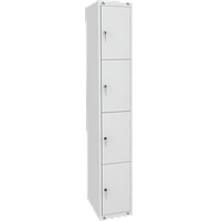 Шкаф металлический для сумок 4 ячейки (400х490х1850) арт. ШМ14/400, фото 1