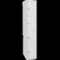 Шкаф металлический для сумок 4 ячейки (400х490х1850) арт. ШМ14/400