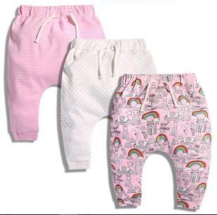 Штанишки трикотажные для девочек, в наборе 3 шт., на 2 года