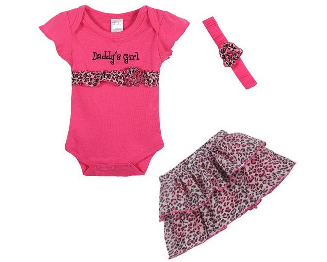 Нарядный костюм-тройка для девочки, Daddy's Girl, 18-24 мес