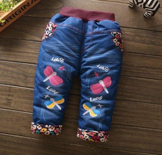 Джинсы утепленные, для девочки 2 года