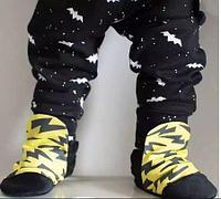 """Тонкие штанишки """"Бэтман"""", цвет черный"""