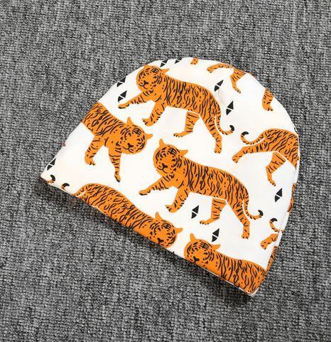 """Весенняя шапочка """"Тигры"""", 6-24 мес"""