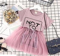 Платье нарядное, цвет розовый, на 3, 4-5 лет