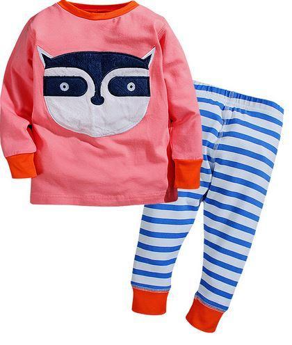 """Пижама """"Енот"""", Little Maven, на 6 лет"""